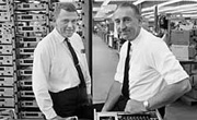 Bill Hewlett & Dave Packard in 1963