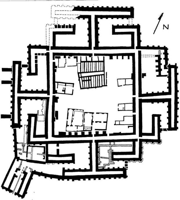 Dashly zoroastrianism for Fortified house plans