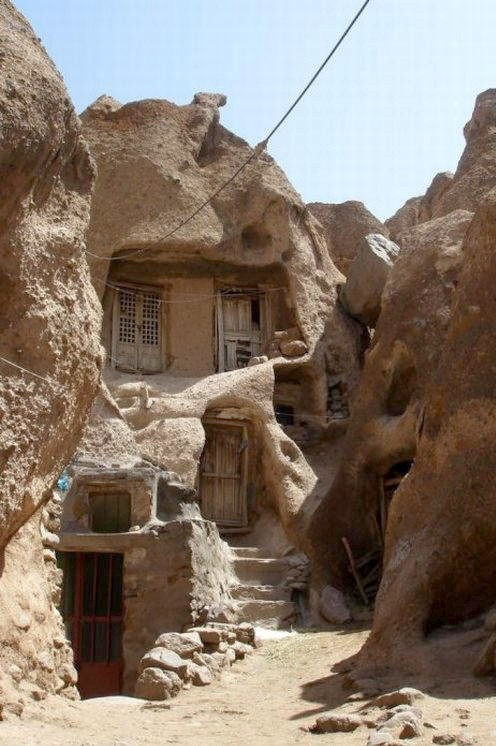Kandovan troglodyte village photographic tour