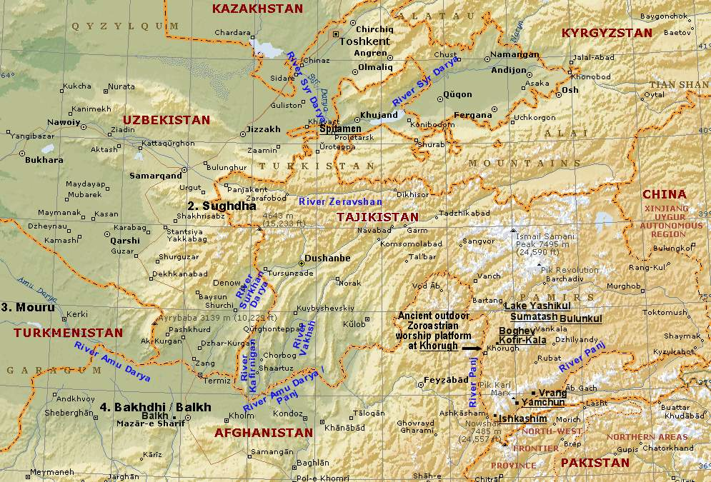 Aryan Homeland Airyana Vaeja Location Aryans and Zoroastrianism