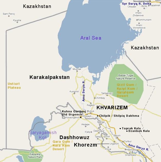 khwarezm-histoire