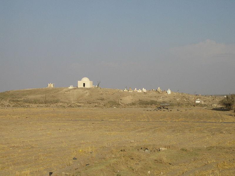 Reputed location of Washukanni: Tell Fecheriye, Syria. Source: Wikipedia