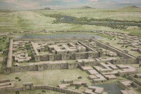 Another reconstruction of the Gonur north complex