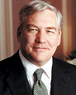 Lord Conrad Moffat Black, Chairman and CEO, Hollinger International Inc.