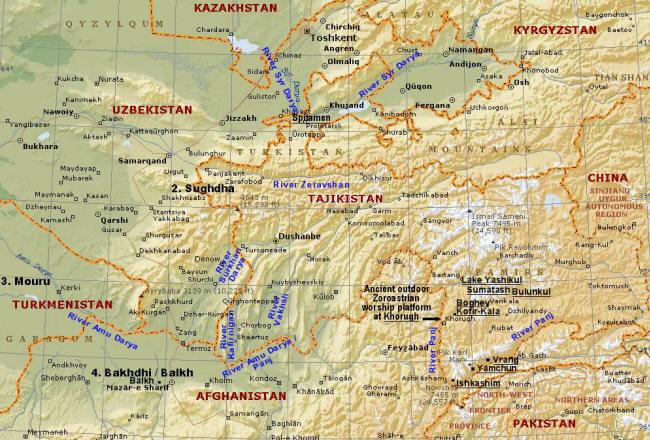 Page 1: Tajikistan Region & Zoroastrianism