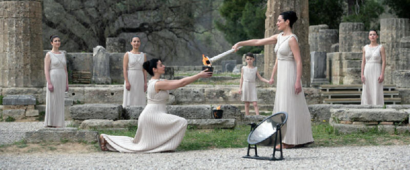 Olympic Flame Zoroastrianism Page 1
